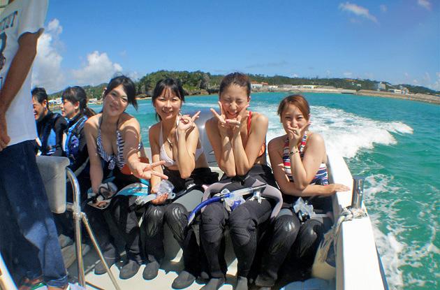 青の洞窟体験ダイビング 1