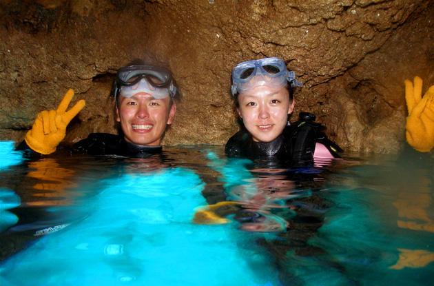 青の洞窟体験ダイビング 4