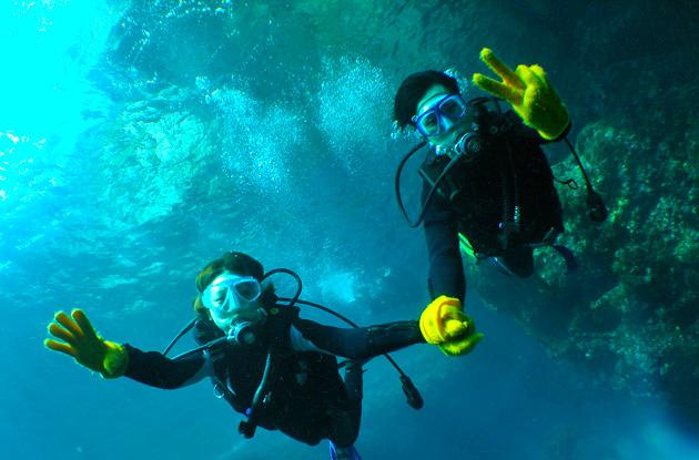 青の洞窟体験ダイビング 5