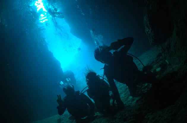 青の洞窟体験ダイビング 6