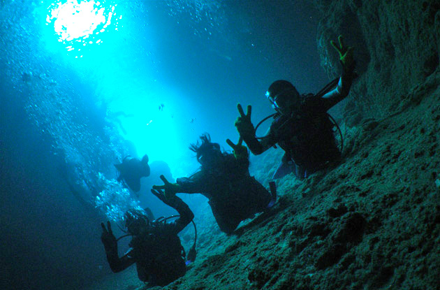 青の洞窟体験ダイビング 7