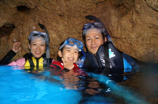 青の洞窟セットコース 3