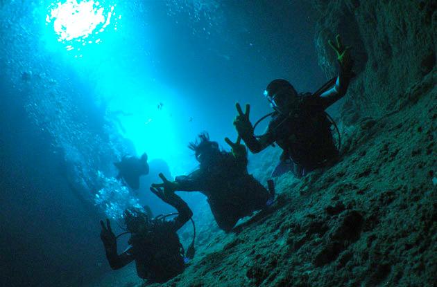 青の洞窟セットコース 4