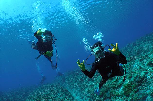 チービシ体験ダイビング 8