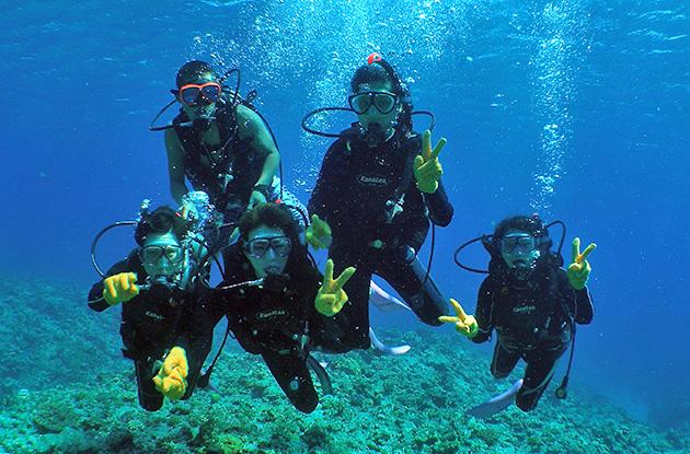 チービシ体験ダイビング 5