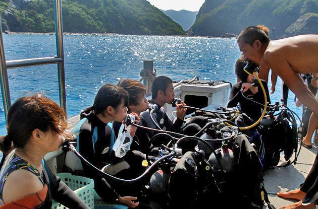 慶良間体験ダイビング 3