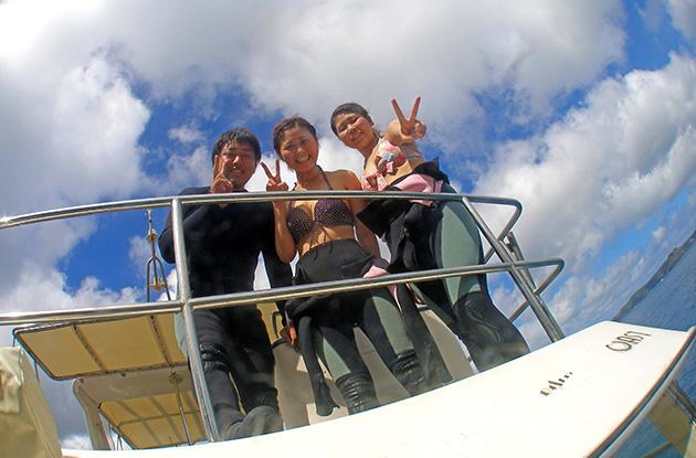 慶良間体験ダイビング 5