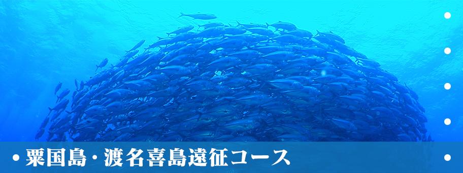 粟国島・渡名喜島遠征コース