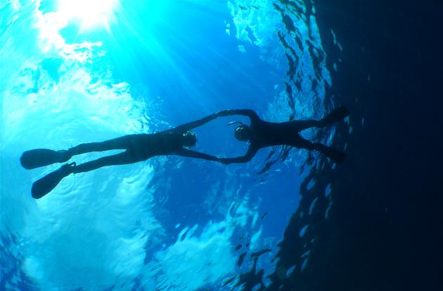 青の洞窟シュノーケル 2