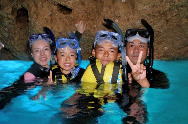 青の洞窟シュノーケル 3