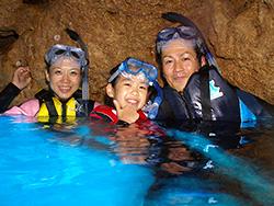 青の洞窟シュノーケル イメージ