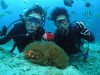 体験ダイビングx2本青の洞窟+白い砂サンゴの海andダイブマスター講習4日目