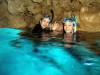 久々に穏やかな青の洞窟