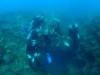 大入9人2チームで慶良間体験ダイビングと浦添、宜野湾ファンダイビング