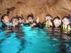 3度目の正直青の洞窟シュノーケリング