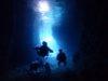 穏やかな青の洞窟ファンダイビング