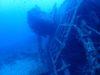 沈船エモンズからのナイトファンダイビング