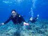 リバンジ成功、慶良間体験ダイビング