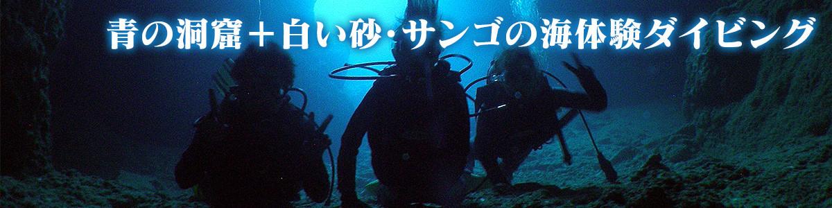 人気の沖縄 青の洞窟で体験ダイビング